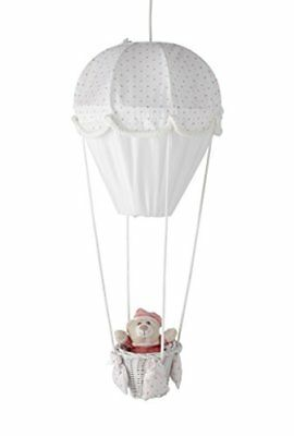 Bianco PMP-LAMPADA A MONGOLFIERA MOTIVO STELLE COLORE /ROSA Nuovo Baby Product