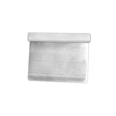 Loyal Flexi Scraper 12x10cm Stainless Steel-White Handle