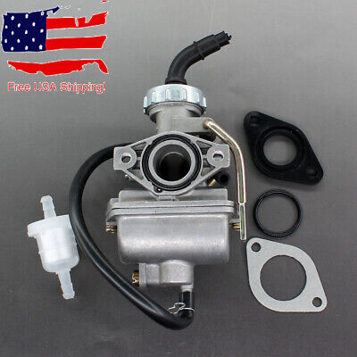 Carburetor for 50cc -135cc with Choke Lever Chinese ATV Go Kart PZ20 20mm Carb