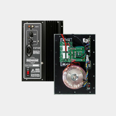 Home Theatre Audio REDGUM RGSW2 Plate Amplifier