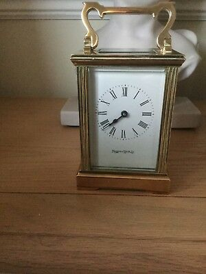 Mappin and Webb Brass Carriage Clock not working
