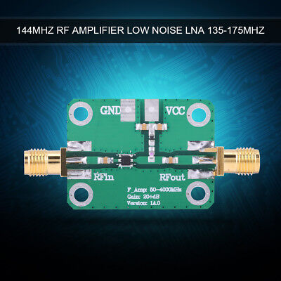Ultra-low-noise 0.5dB LNA 144MHz Receiver Front-end RF Amplifier 100mW Output ly