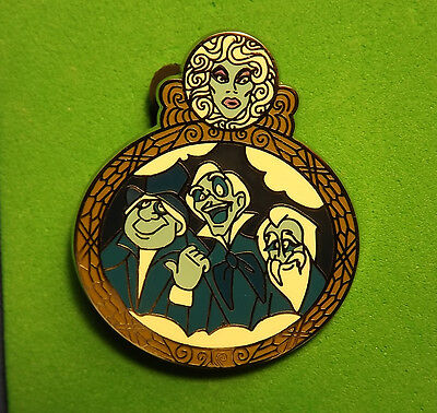 Disney Hitchhiking Ghosts Leota Haunted Mansion Attractions Pin