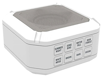 Portable Sleep Sound Therapy Machine 8 Sounds White Noise Dream Soothing Sound