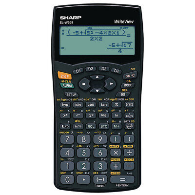 Sharp Scientific Calculator Elw531B