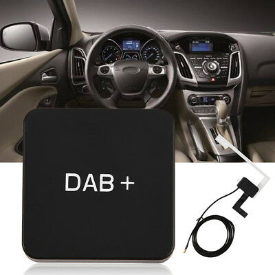 Car DAB Box Receiver Antenna Broadcast Audio Radio FM Transmitter For Android