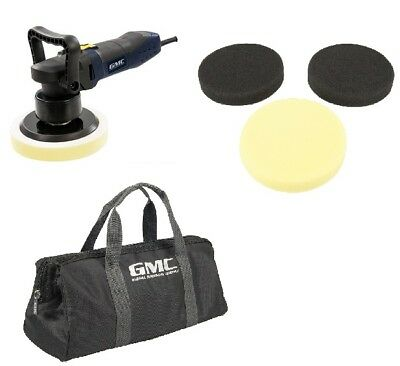 GMC Dual Action DA Random Orbital Sander Buffer Polisher Machine Car 150mm