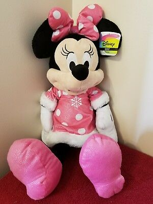 "Ultra Rare Disney 2017 Toys R Us Exclusive Minnie Mouse 22"" Plush. Very Limited."