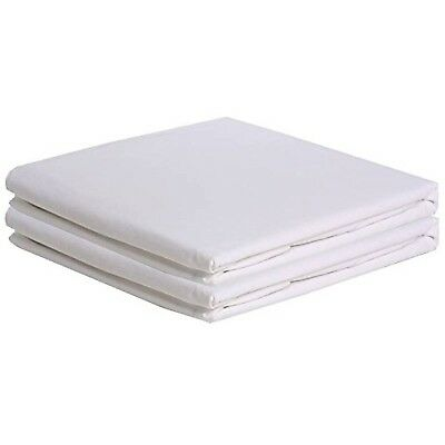 Set of 2 White Bassinet Sheets 17x31