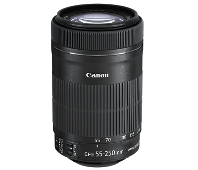 Canon EF-S 55-250 mm f/4-5.6 IS STM Lens Brand New DSLR Lens Zoom Photography