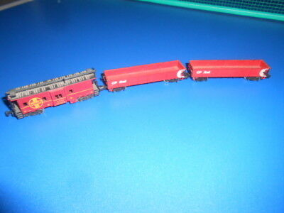 N Scale Carriages