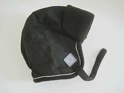 FADED GLORY Baby Boys Hat Sz 2T 3T 4T 5T Toddler Black Winter New
