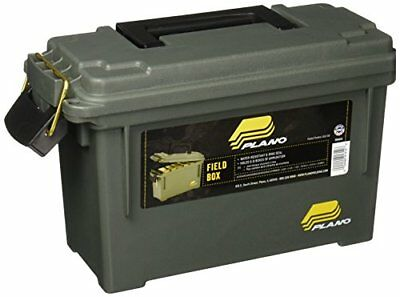 Ammo Can Slim Stack-Able Shot Lid Box Plano Lockable Plastic Ammunition Storage