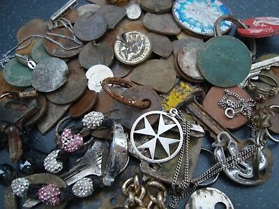 Metal Detecting Finds - Mixed Lot Silver & Coins