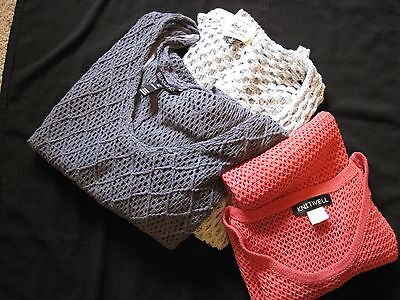 3 x Womens Knitted Jumpers, Billabong,cotton on, Knit well