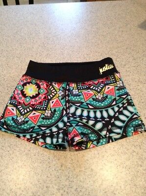 justice girls active wear shorts 8