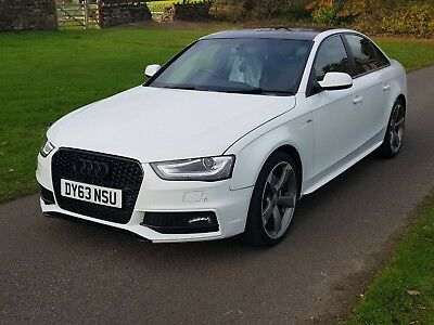 2013 63 Audi A4 S Line Black Edition Damaged Repaired