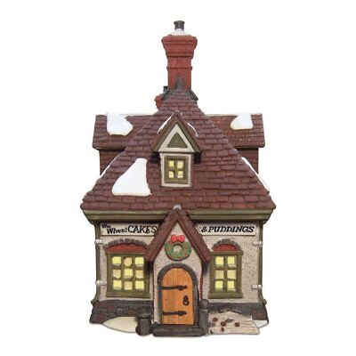 Dept 56 Village Bakery - WM Wheat Cakes & Puddings