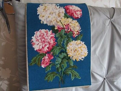 Vintage hand worked tapestry