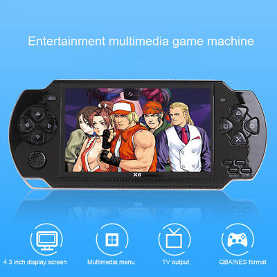"""4.3"""" Portable 32 Bit 8GB PSP Game Handheld 300Games Video Console MP5 Player Kit"""