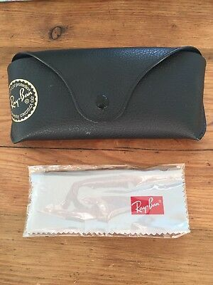 Ray Ban Black Sunglasses Case - Cloth Included