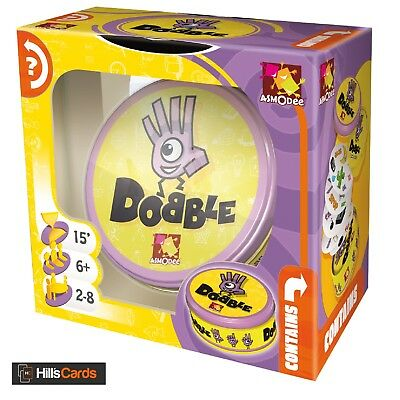 Dobble By Asmodee Award-Winning Visual Perception Card Game Party Family Spot It