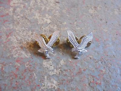 Pair of British Military Army Air Corps AAC Collar Dogs / Badges