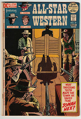 All-Star Western #10 1st Appearance of Jonah Hex! DC 1972 KEY ISSUE! VG+