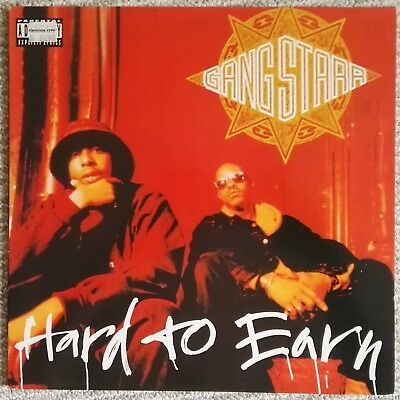 Gang Starr - Hard to Earn - 1994 - 2 LPs - UK - Very Good