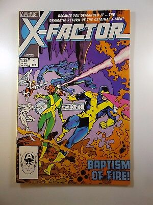 X-Factor #1 Return of Original X-Men Great Story Reaching out to Mutants Fine!!