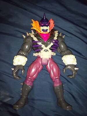 """GHOST RIDER VENGEANCE Action Figure GLOWS Large DELUXE 10"""" Tall MARVEL 1995"""