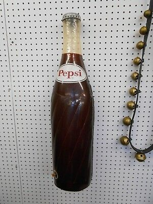 "Vintage Pepsi Cola Pepsi Blow Up Store Display 30"" Tall 1970s Soda Pop Japan"