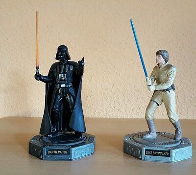 Star Wars Figuren 2× Epic Force Darth Vader und Luke Skywalker Figure 360°