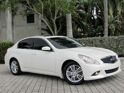 2012 Infiniti G37 Journey 2012 Infiniti G37 Journey Sedan 328HP V6 7-Speed Auto 57,921 Miles Non-Smoker