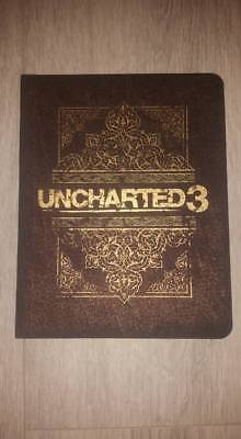 PS3 Uncharted 3 Press Kit / Media Kit, very limited and nice Collector Item