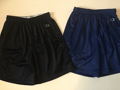 NWOT! Lot of 2 Champion Youth Mesh Athletic Shorts SIZE L (14-16)