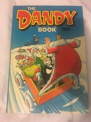 The Dandy Book 1981 Vintage Annual Classic Dandy Beano Era