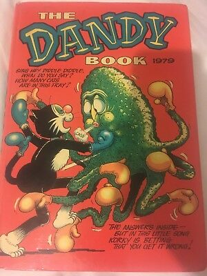 The Dandy Book Annual 1979 Very Vintage