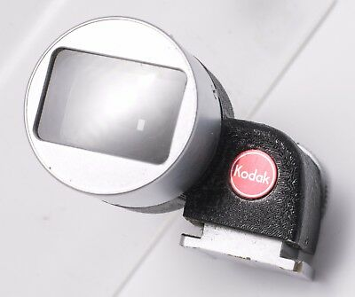 Kodak Universal 35mm/80mm Shoe Mounted Optical Viewfinder For Retina Cameras