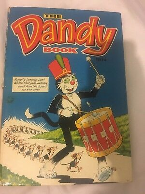 The Dandy Book 1974 Vintage U.K Comic Annual