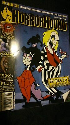 Horrorhound Magazine 41 May/june 2013. Beetlejuice, Maniac, The Walking Dead