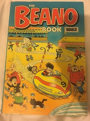 The Beano Book 1982 Vintage Rare Very Good Condition