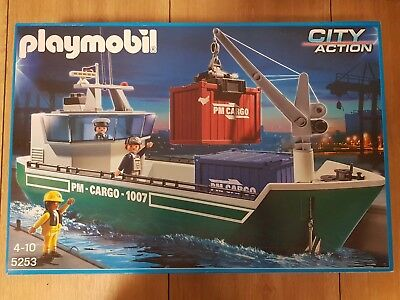 Playmobil 5253 City Action Großes Containerschiff