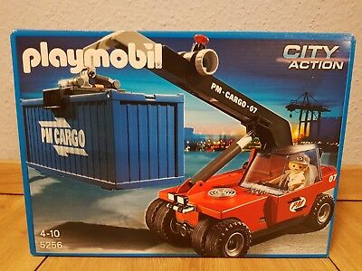 Playmobil 5256 City Action Großer Containerstapler
