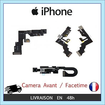 Nappe Flex Camera Avant Facetime Capteur Proximite Iphone 6/6+/6S/6S+/7/7+ Se