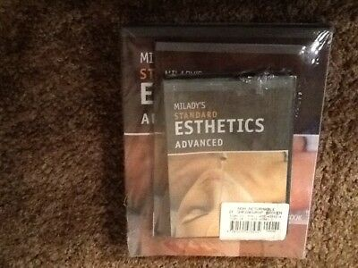 Milady's Standard Esthetics - Advanced, manual, workbook, exams, student cd, new