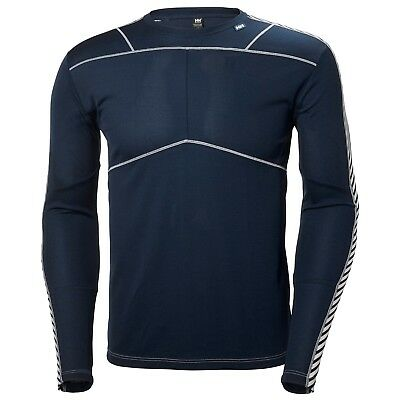 Helly Hansen Men's Lifa Light Crew L/S Top - Navy