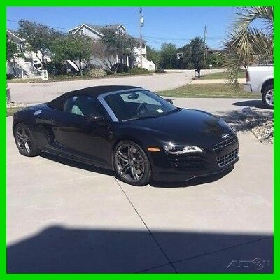 2012 Audi R8 5.2 All-Wheel Drive Spyder Convertible 2012 Audi R8 5.2 AWD Luxury Convertible