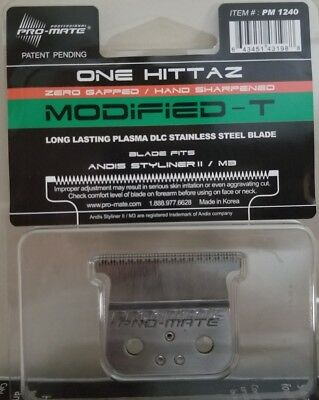 "Andis Styliner 2 II Replacement ""One Hittaz Modified Blade By Pro-mate"