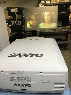 Sanyo PLC XF20 video projector - used with some scratches & wear & tear